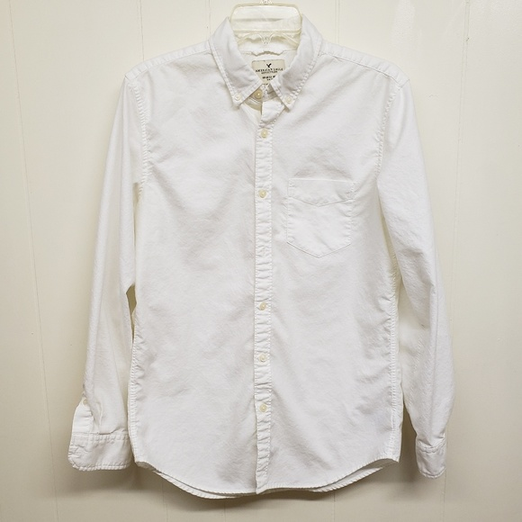 American Eagle Outfitters Other - Like New! AE Men's White Button-up